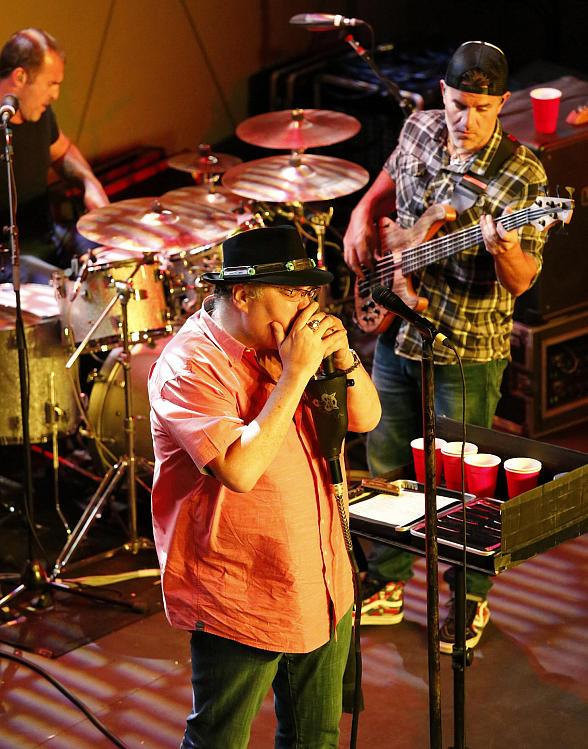 Blues Traveler perform at Topgolf Las Vegas