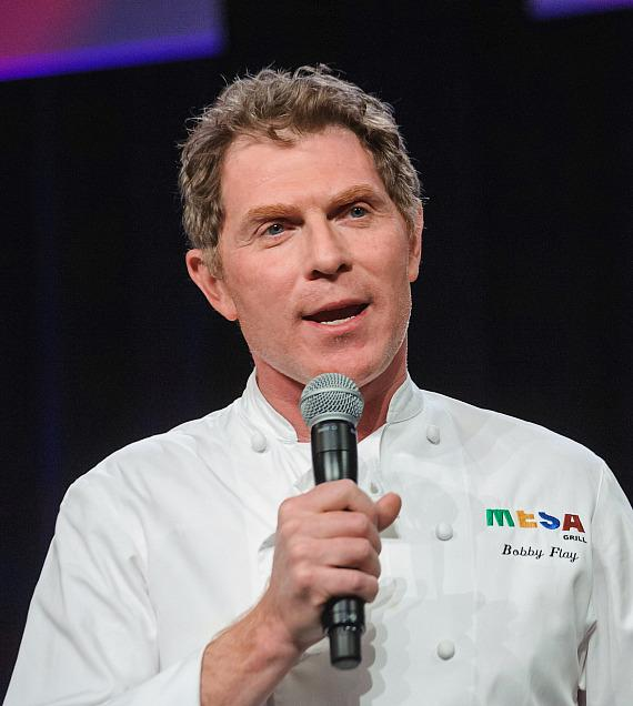 "Bobby Flay at ""Salute to Vegas Heroes"" Dinner at Caesars Palace"
