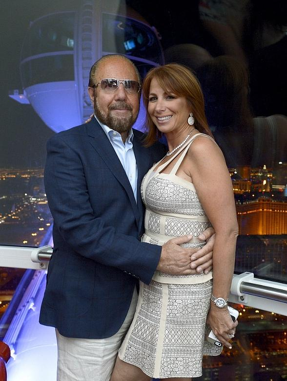 Comedian Heather McDonald and TV Personality Jill Zarin Ride The High Roller at The LINQ in Las Vegas