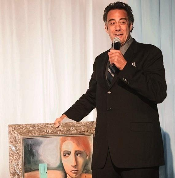 Comedian Brad Garrett hosted the annual Camelot fundraiser for Opportunity Village on Nov. 15. Garrett helped raise funds for Opportunity Village by auctioning off a painting at the fundraiser.