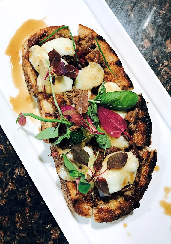 Braised Oxtail Toast at 7th & Carson in Las Vegas