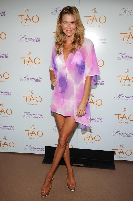 Brandi Glanville at TAO Beach