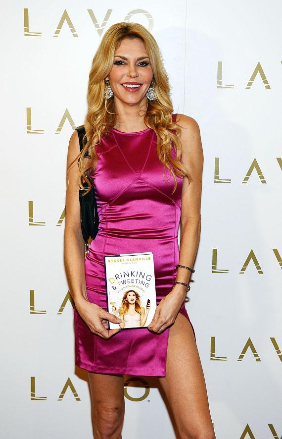 Brandi Glanville celebrates her new book at LAVO