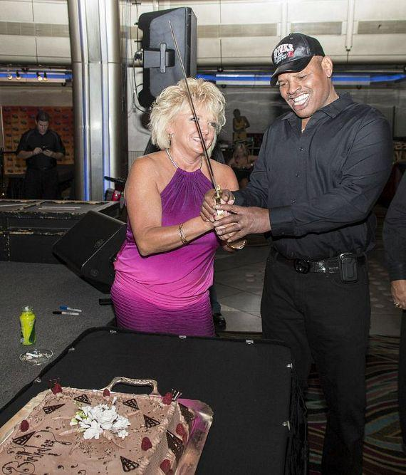 Brenda and Leon Spinks