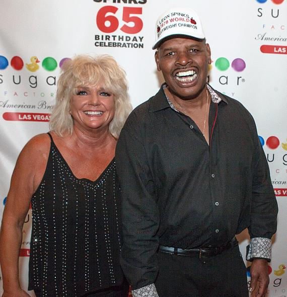 Brenda and Leon Spinks at Sugar Factory