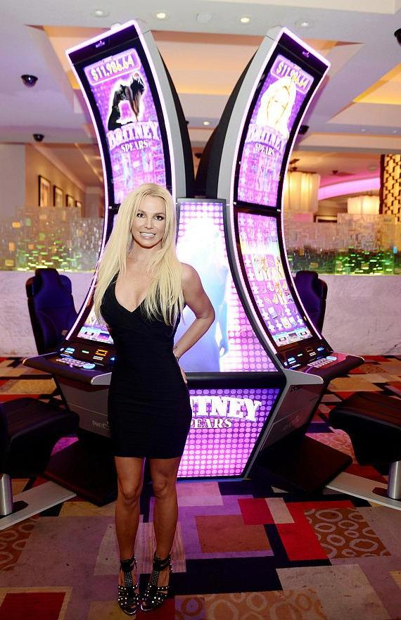 Aristocrat's Britney Spears Slot Game