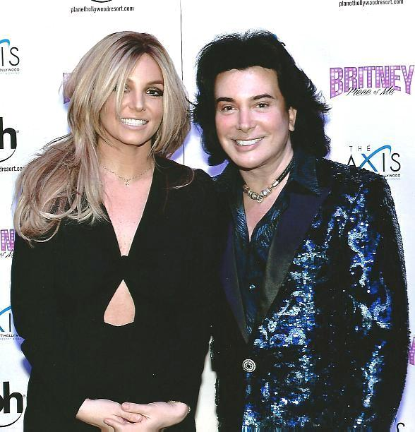 Britney Spears and Frank Marino