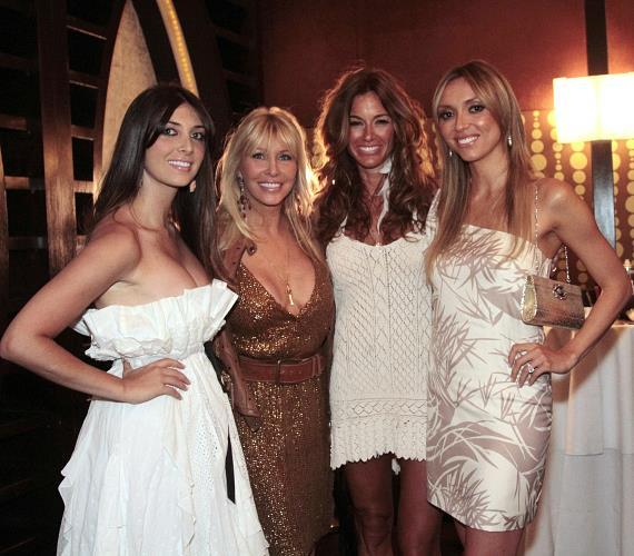 Brittny and Lisa Gastineau, Kelly Bensimon and Giuliana Rancic