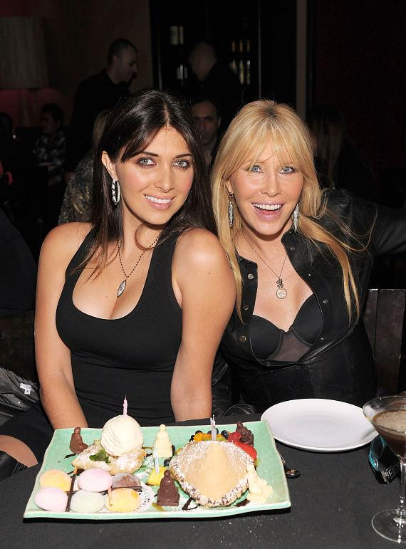 Brittny and Lisa Gastineau at TAO Las Vegas