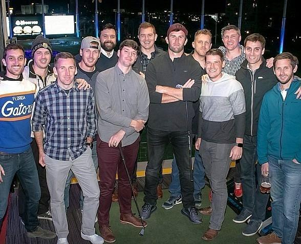 Amazing Race Contestant Brodie Smith Holds Bachelor Party at TopGolf Las Vegas