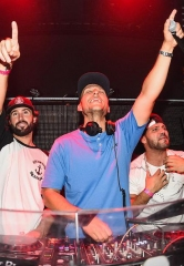 Brody Jenner, Ronnie Magro and DJ Vice at TAO Saturday in Las Vegas