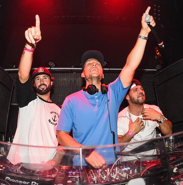 Brody Jenner and Ronnie Magro at TAO Saturday in Las Vegas