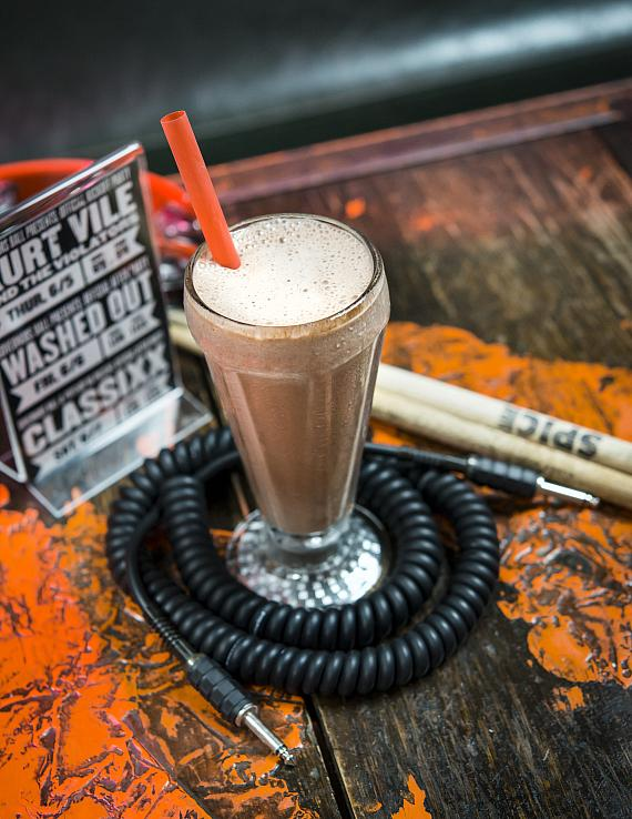Brooklyn Bowl Las Vegas chocolate shake