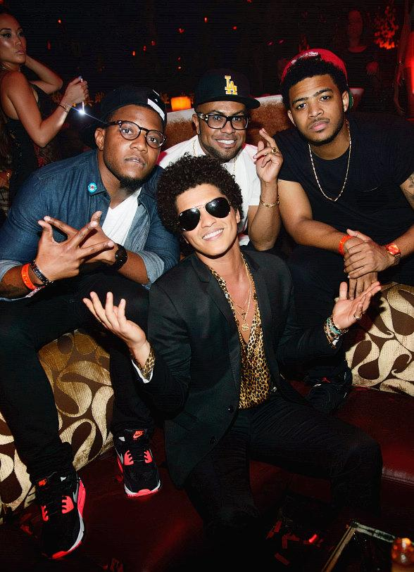 Bruno Mars Performs at TAO Nightclub in Las Vegas