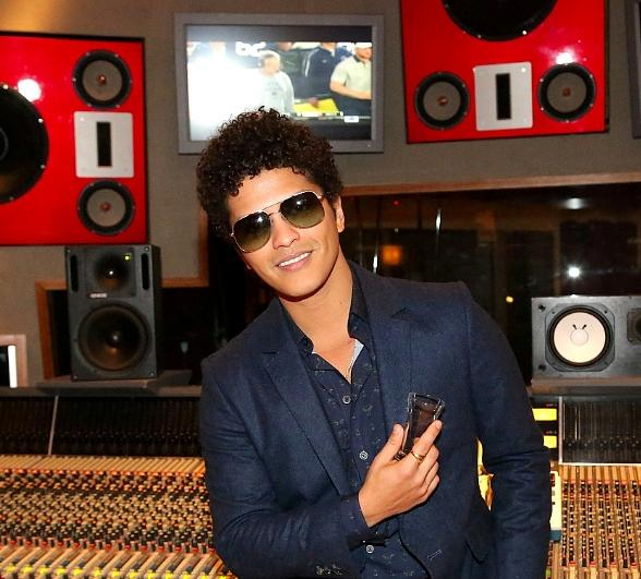 Celebrity Sighting: Bruno Mars at The Palms