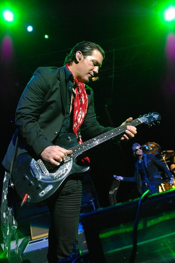 Buckcherry's Keith Nelson performs at Rock Vegas Festival at Mandalay Bay