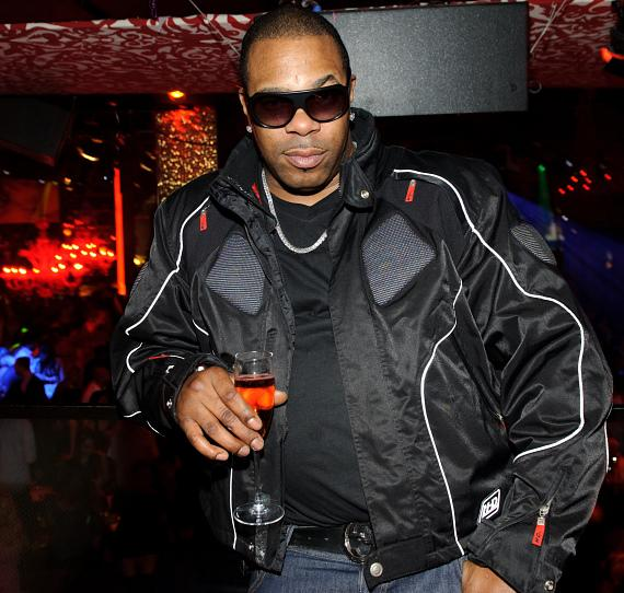 Busta Rhymes in TAO sky box