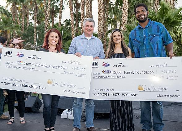 Lake Las Vegas Gives $20,000 to Local Non-Profits
