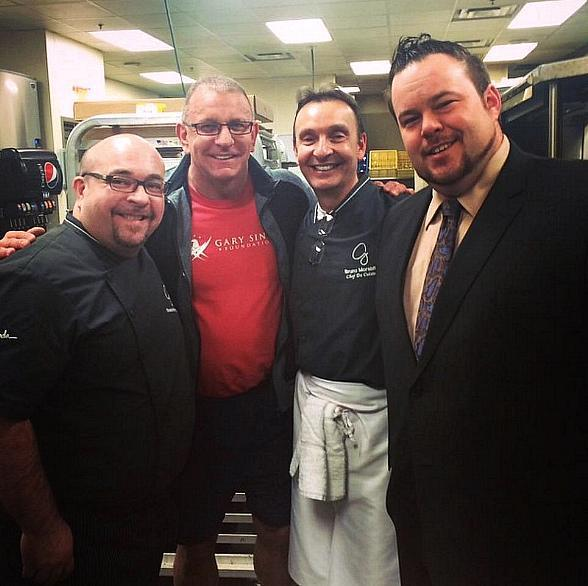 Restaurant: Impossible Host Robert Irvine Spotted at GIADA at The Cromwell in Las Vegas