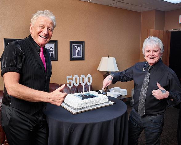 Air Supply Celebrates Milestone 5,000th Concert at the Orleans Hotel and Casino in Las Vegas