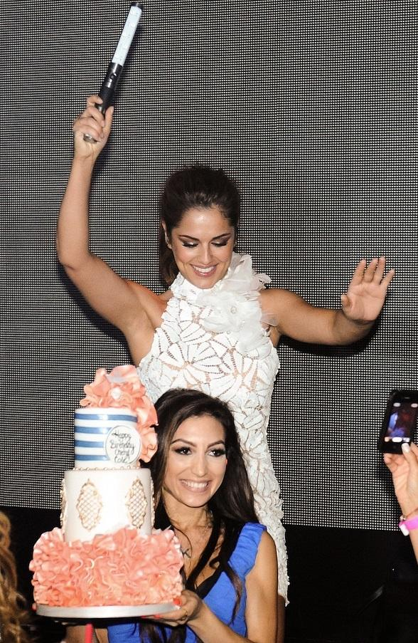 Cheryl Cole Celebrates 30th Birthday at Hakkasan Las Vegas