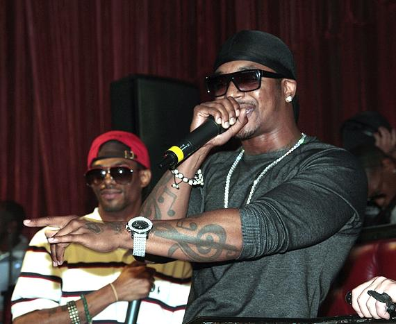 Chingy Performs at LAX Nightclub