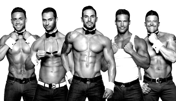 Cast members of Chippendales will walk the Black Carpet at Fright Dome