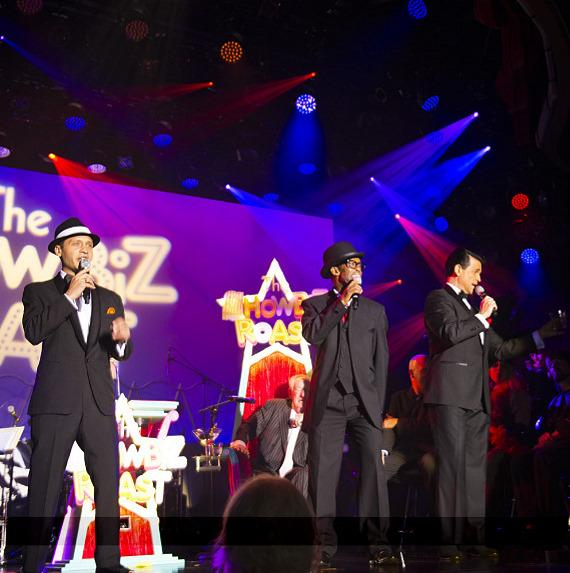 The Rat Pack performs