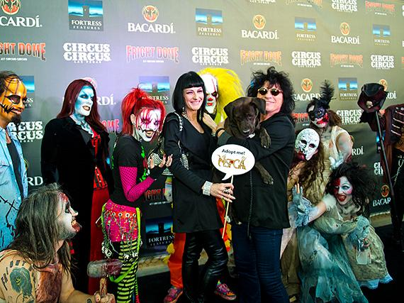 """Raiding the Rock Vault"" Paul Shortino and wife Carmen at Fright Dome in Las Vegas 2013"
