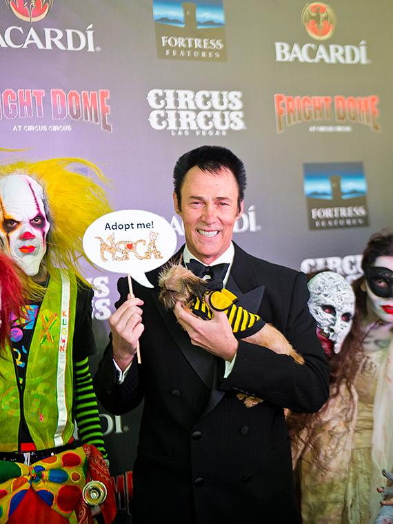 Master magician Lance Burton at Fright Dome in Las Vegas