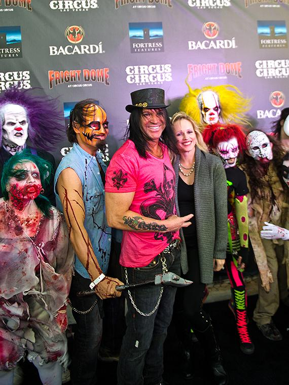 Rock star of the art world Michael Godard at Fright Dome in Las Vegas
