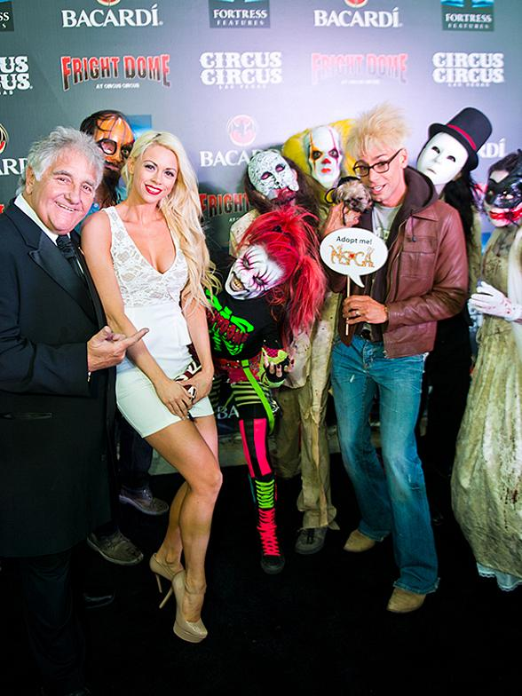 Celebrities and Zombies Walk the Black Carpet at Fright Dome's Grand Opening in Las Vegas