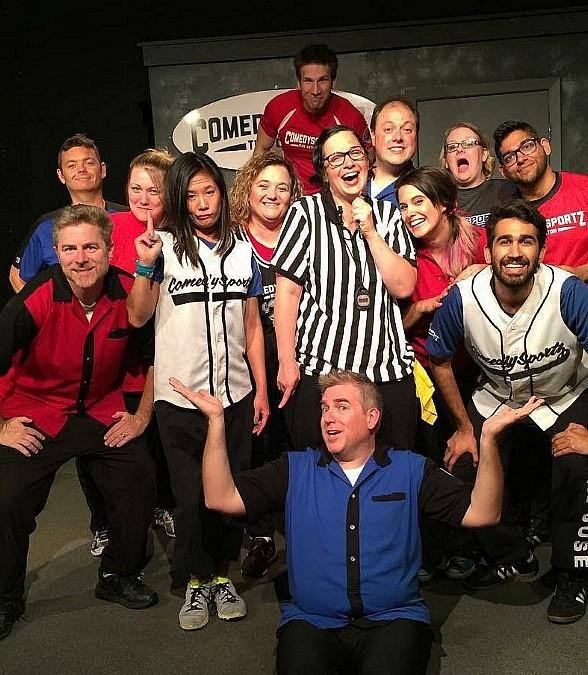 "Improvisational Comedy Competition Debuts at The Space; ""ComedySportz"" Joins The Space Line-Up Sept. 21, Oct. 6 and 20 with Improv Classes Sept. 18-Nov. 7"