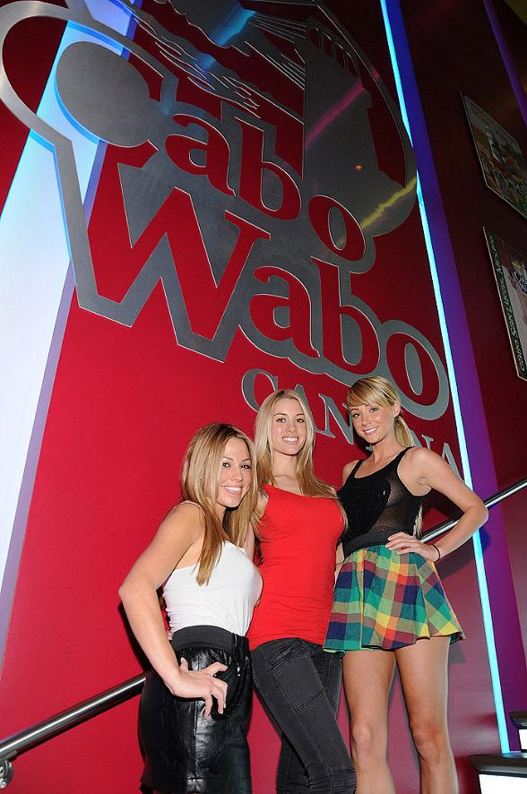 Sara Underwood and Heather Rae Host Super Sunday Bash at Cabo Wabo