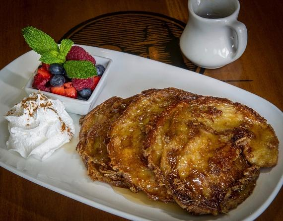 Cabo Wabo's Croissant French Toast