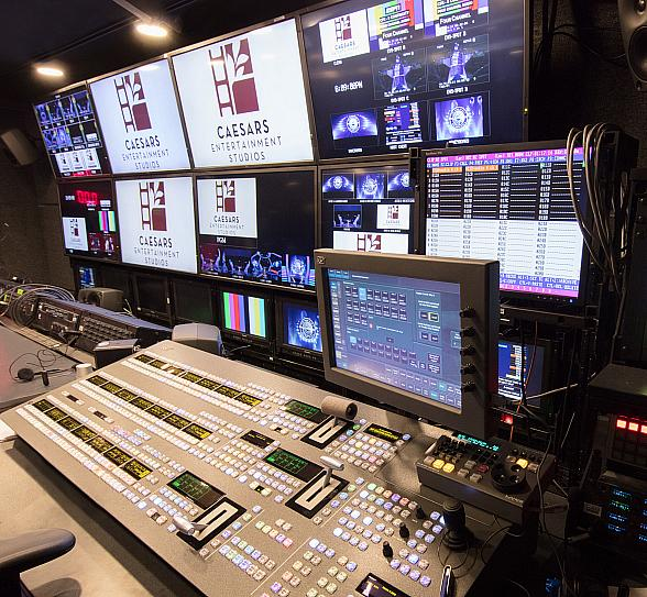 Caesars Entertainment Studios Opens in Las Vegas; Nevada's First Full-Service Production Studio