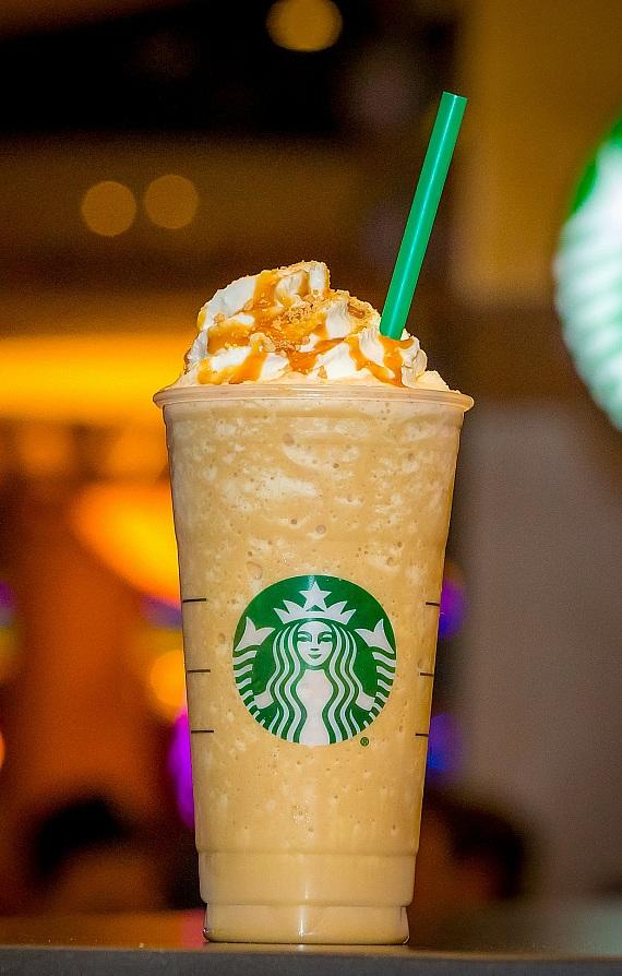 Limited-edition Golden Frappuccino at Starbucks at Forum Food Court and Laurel Collection