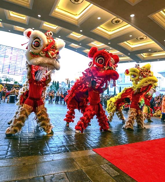 Caesars Palace Lion Dance