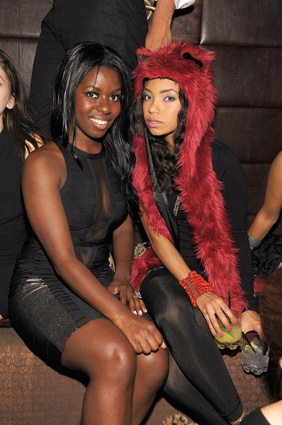 Camille Winbush and Logan Browning at LAVO