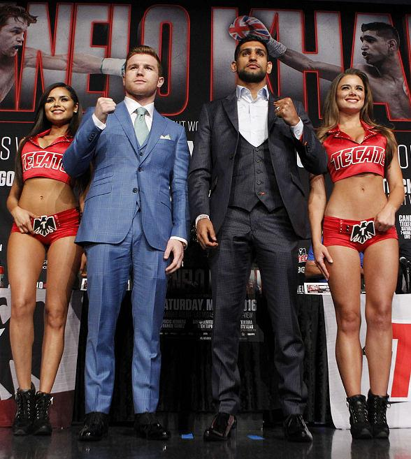 Canelo vs. Khan Final Press Conference at MGM Grand Hotel and Casino