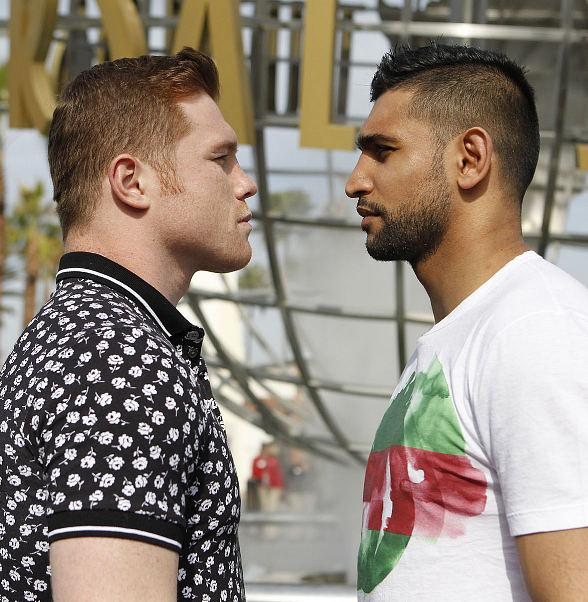 Canelo Alvarez to Battle Amir Khan for WBC, Ring Magazine and Lineal Middleweight World Championships Live on the Big Screen May 7