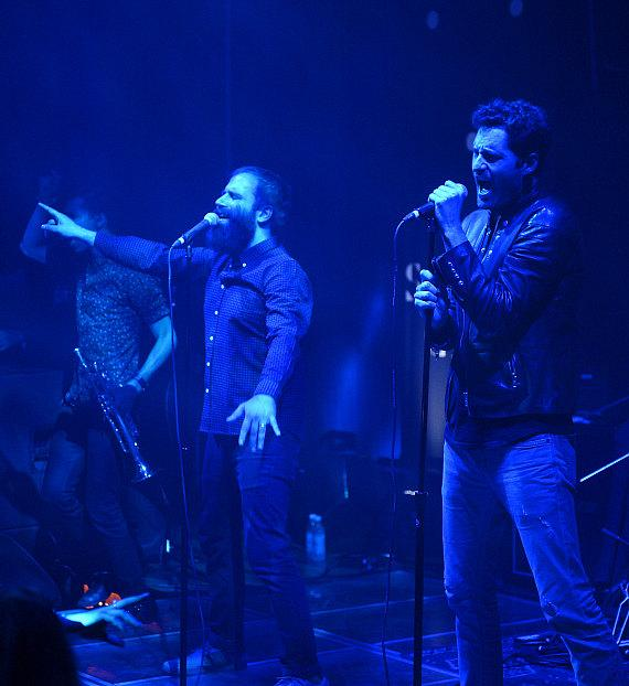 Capital Cities performs their hit single 'Safe and Sound' on the iconic Sayers' stage