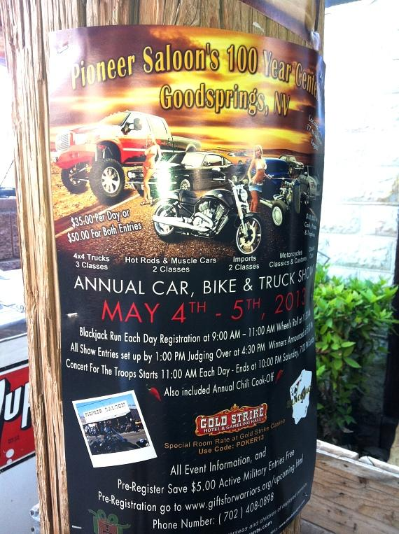Poster for 100 Year Centennial Car Show