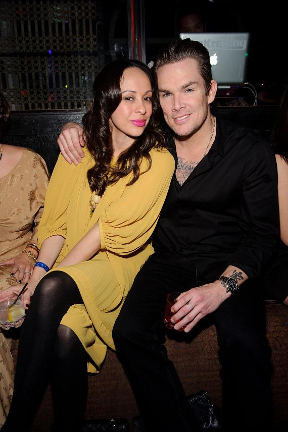 Carin Kingsland and Mark McGrath at LAVO Las Vegas