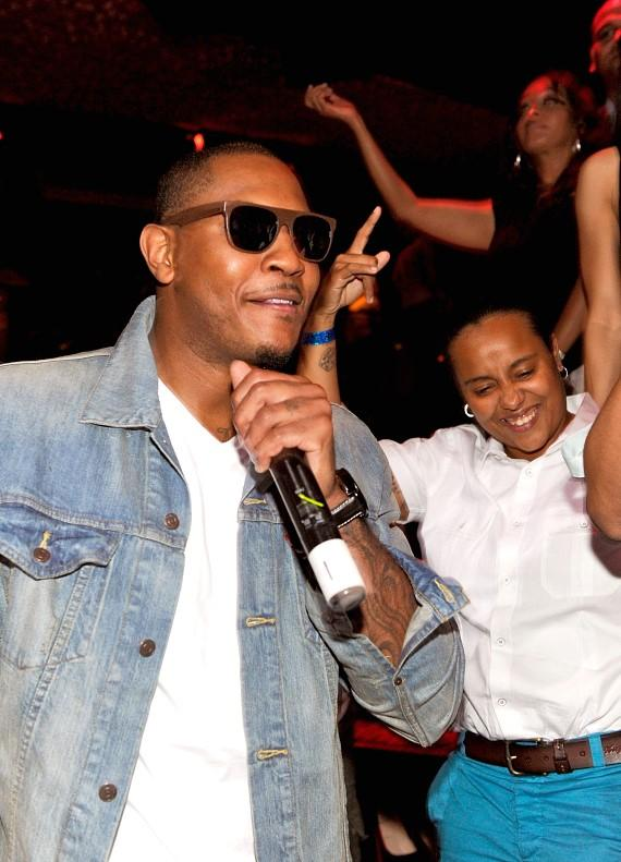 Carmelo Anthony at TAO