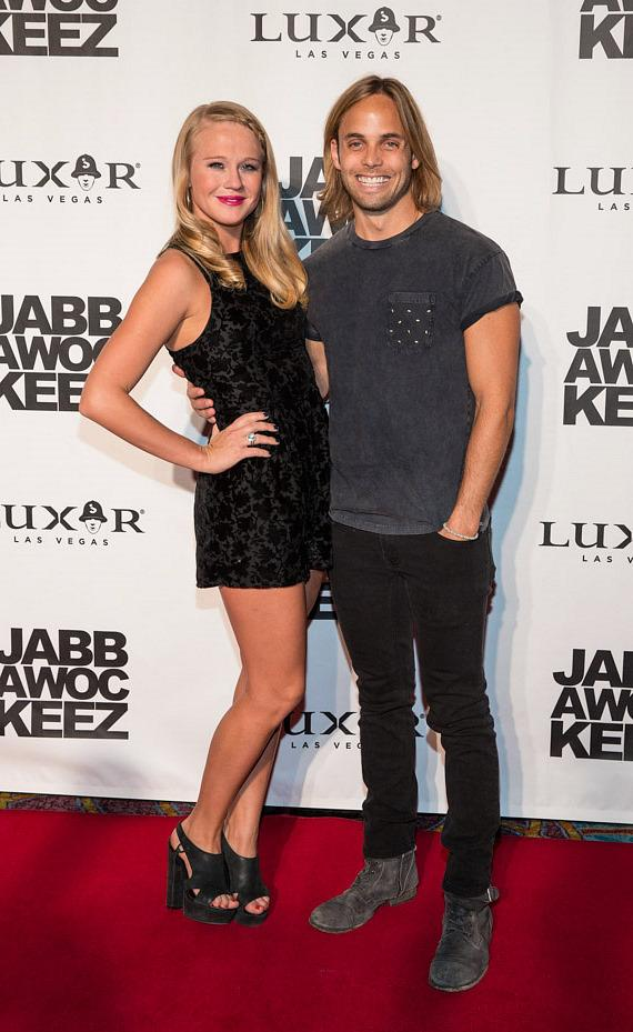 Carrie St. Louis and Justin Mortelliti of Rock of Ages