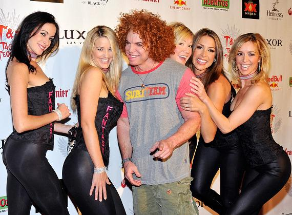 Carrot Top and cast of FANTASY