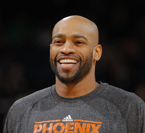 Vince Carter of the Phoenix Suns