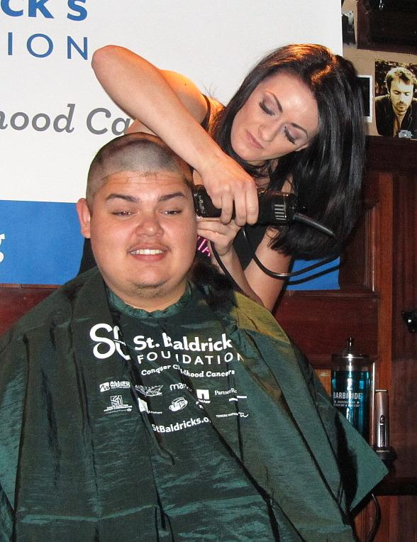 Rí Rá Las Vegas Raises $11,000 for St. Baldrick's Foundation