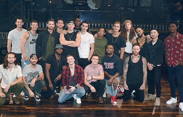 "Cast of ""Magic Mike Live London"" Attends ""Magic Mike Live Las Vegas"" at Hard Rock Hotel & Casino"